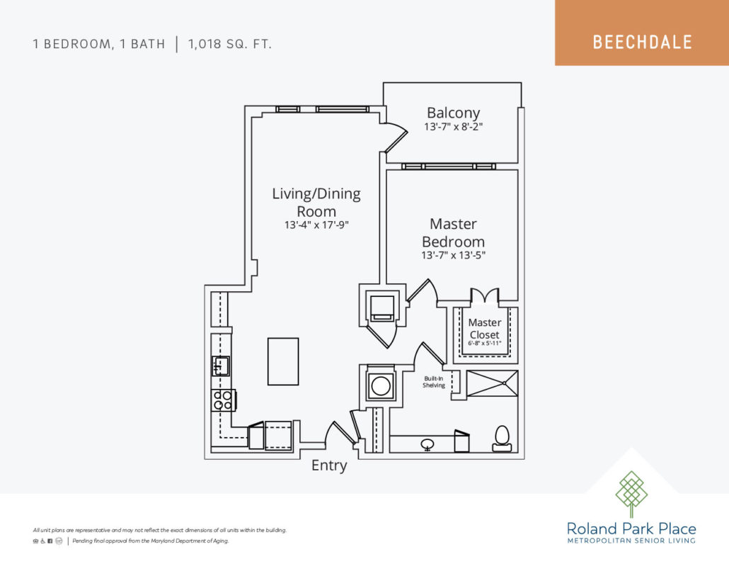 New Building Floor Plans | Roland Park Place