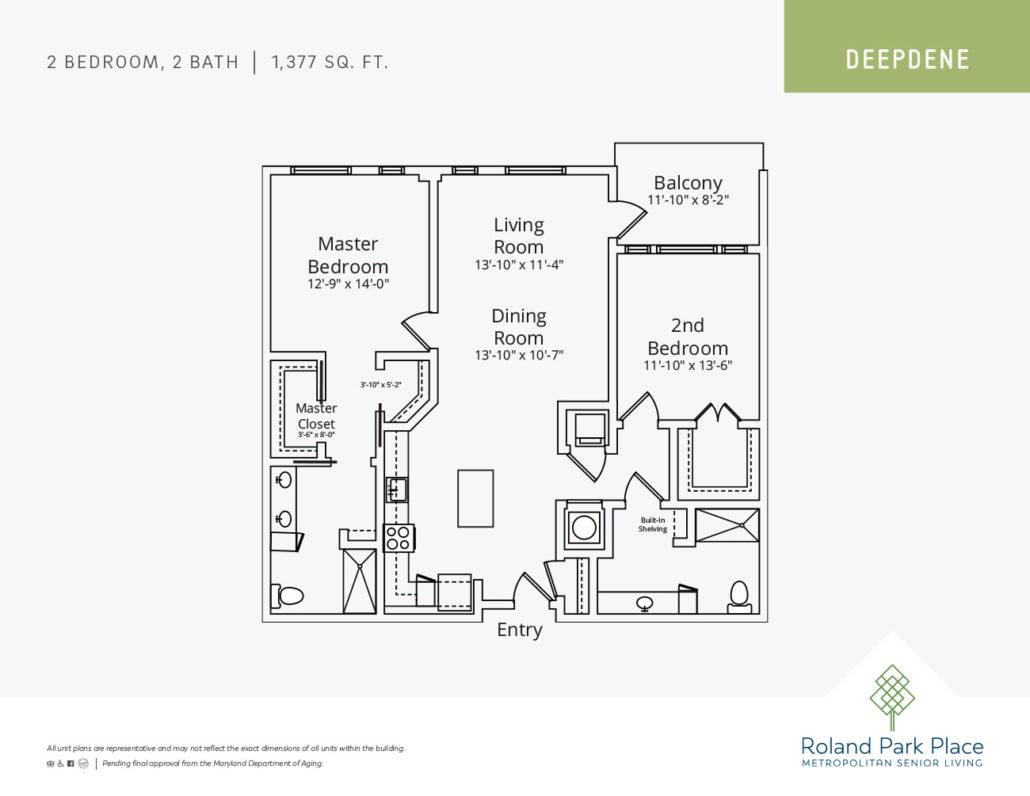 New Building Floor Plans | Roland Park Place